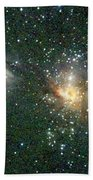 Star Forming Region Beach Towel