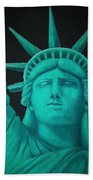Statue Of Liberty ... Beach Towel