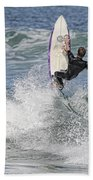 Staying On The Board Beach Towel