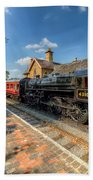Steam Train Beach Towel