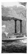 Steamboat, 1850 Beach Towel