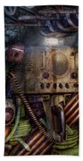 Steampunk - Naval - The Comm Station Beach Towel