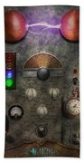 Steampunk - The Modulator Beach Towel