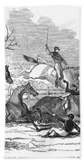 Steeplechase, 1845 Beach Towel