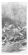 Steeplechase, 1847 Beach Towel