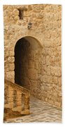 Stone Arch And Stairway Beach Towel