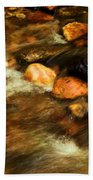 Stone Mountain River Rocks Beach Towel