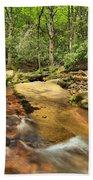 Stone Mountain Stream Beach Towel