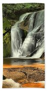 Stone Mountain Window Falls Beach Towel