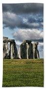 Stonehenge Landscape Beach Towel