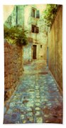 Stones And Walls Beach Towel by Jasna Buncic