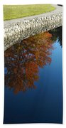 Stonewall And Autumn Reflections Beach Towel