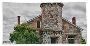 Stonington Lighthouse Museum Beach Towel