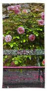 Stop And Smell The Roses Beach Towel
