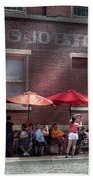 Storefront - Bastile Day In Frenchtown Beach Towel