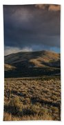 Storm Clearing Over Great Basin Beach Towel