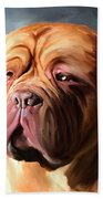 Stormy Dogue Beach Towel