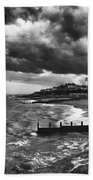 Stormy Southwold Beach Towel