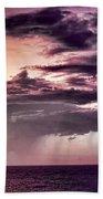 Stormy Weather Beach Sheet