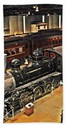 Strasburg Railroad Museum Beach Towel