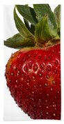 Strawberry Close Up No.0011 Beach Towel