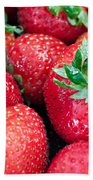 Strawberry Delight Beach Towel