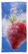 Strawberry Soda Dunk 1 Beach Towel