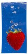 Strawberry Soda Dunk 6 Beach Sheet