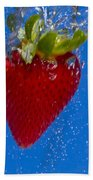 Strawberry Soda Dunk 7 Beach Towel