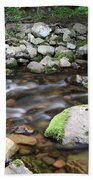 Stream In Nova Scotia Beach Towel