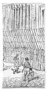 Street Advertising, 1842 Beach Towel