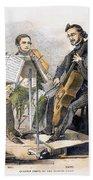 String Quartet, 1846 Beach Towel