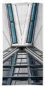Structure Reflections Beach Towel
