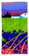 Study For Provence Painting Beach Towel