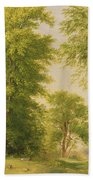 Study From Nature - Hoboken Beach Towel