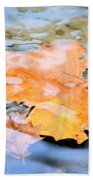 Submerged Sunset Beach Towel