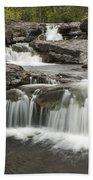 Sucker River Falls 2 F Beach Towel