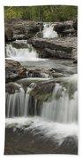 Sucker River Falls 2 G Beach Towel