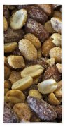 Sugar Coated Mixed Nuts Beach Towel