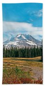 Summer At Mt. Hood In Oregon Beach Towel