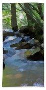 Summer Creek Beach Towel