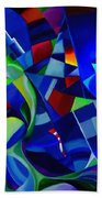 Summer In The City Beach Towel
