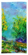 Summer In The Wood 452160 Beach Towel