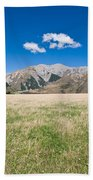 Summer Landscape Blue Sky Beach Towel