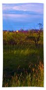 Summer Shot Of Old Shack By Creek, St Beach Towel