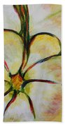 Summer Squash Beach Towel