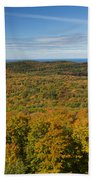 Summit Peak Autumn 12 Beach Towel