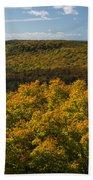 Summit Peak Autumn 9 Beach Towel