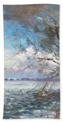 Sun After Storm Beach Towel by Ylli Haruni