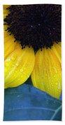 Sun Flower Beach Towel